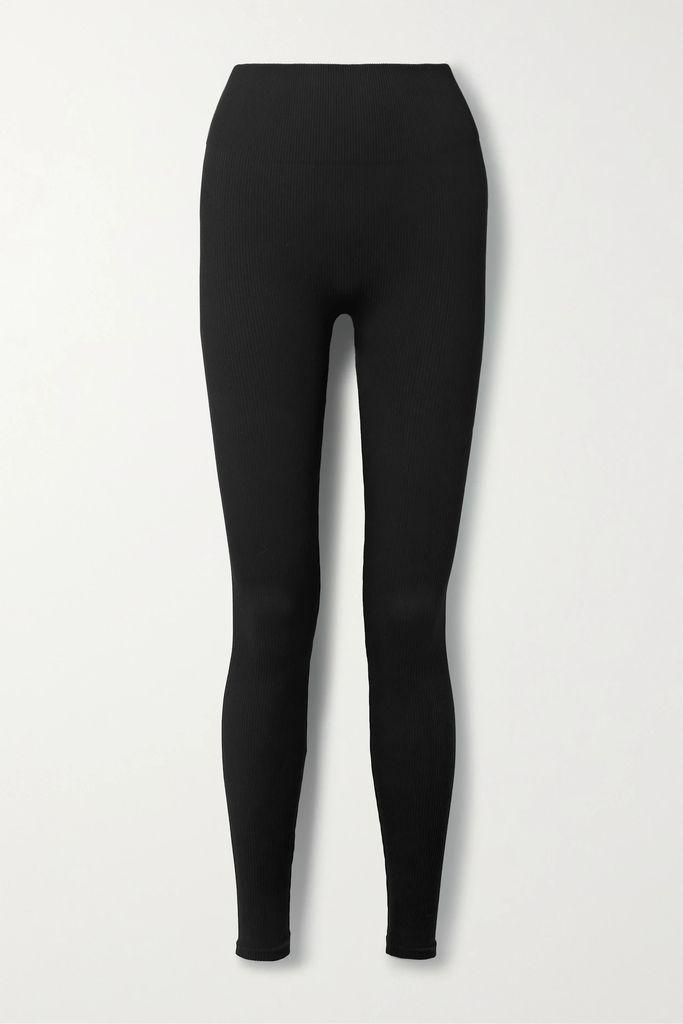 Retrofête - Veronica Sequined Chiffon Midi Skirt - Yellow