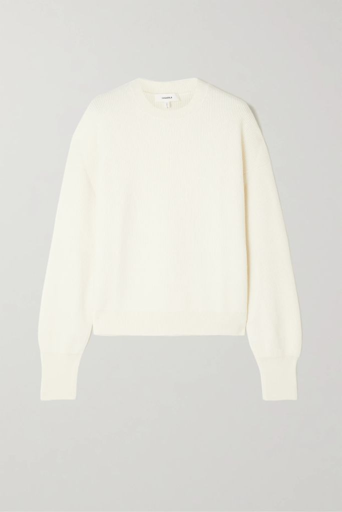 Theory - Silk-crepe Skirt - Red
