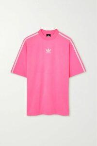 Chloé - Printed Silk-twill Maxi Dress - Peach