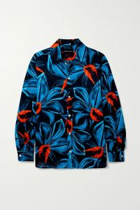 Chloé - Embellished Gathered Silk-crepon Mini Dress - Taupe