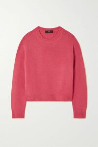 Chloé - Pussy-bow Floral-print Hammered-silk Blouse - Burgundy