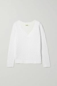 LoveShackFancy - Hannah Ruffled Tiered Floral-print Silk-georgette Mini Dress - Off-white