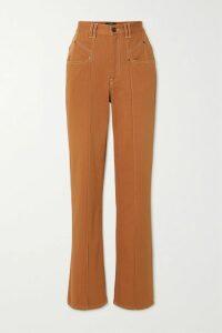 Veronica Beard - Mick Ruched Floral-print Silk-chiffon Maxi Dress - Pink