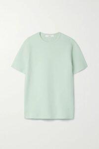 See By Chloé - Ruffled Lace-trimmed Printed Chiffon Midi Dress - Black