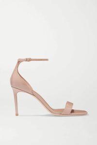 Antonio Berardi - Cotton And Silk-blend Crepon Mini Dress - Coral