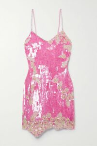 Marni - Cotton-poplin And Printed Silk-twill Shirt - Red