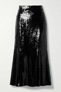 Proenza Schouler - Belted Frayed Tweed Jacket - Black