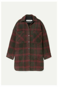 IRO - Zunky Oversized Checked Flannel Jacket - Red