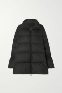 Marchesa Notte - Glittered Tulle Midi Dress - Black