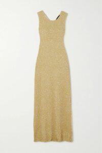 Stine Goya - Zoey Oversized Floral-print Satin Shirt - Sky blue