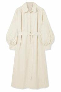 Frankie Shop - Loulou Twill Dress - Beige