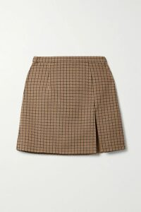 REDValentino - Embellished Velvet-appliquéd Cady Mini Dress - Black