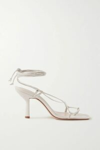REDValentino - Double-breasted Scalloped Houndstooth Wool-blend Bouclé Cape - Black