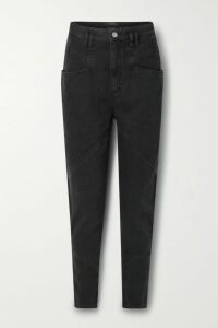 Frankie Shop - Camille Snake-print Pleated Jersey Midi Skirt - Snake print