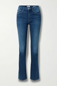 LoveShackFancy - Lisette Asymmetric Ruffled Floral-print Silk-georgette Skirt - Baby pink