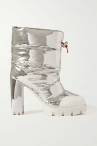 Etro - Printed Crepe De Chine Wrap Dress - Yellow