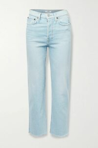 Versace - Paneled Double-breasted Gabardine Trench Coat - Beige
