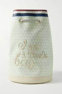 Frankie Shop - Karen Double-breasted Satin Blazer - Mint