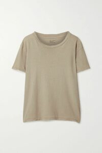 Frankie Shop - Karen Asymmetric Pleated Cady Midi Skirt - Pastel yellow