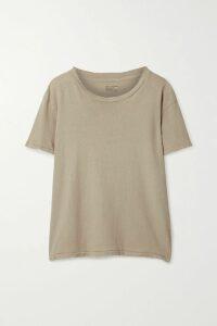 Frankie Shop - Karen Asymmetric Pleated Cady Midi Skirt - Pastel yellow