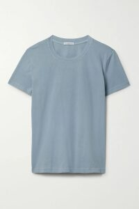 GANNI - Ruffled Gingham Mesh Wrap Skirt - Black