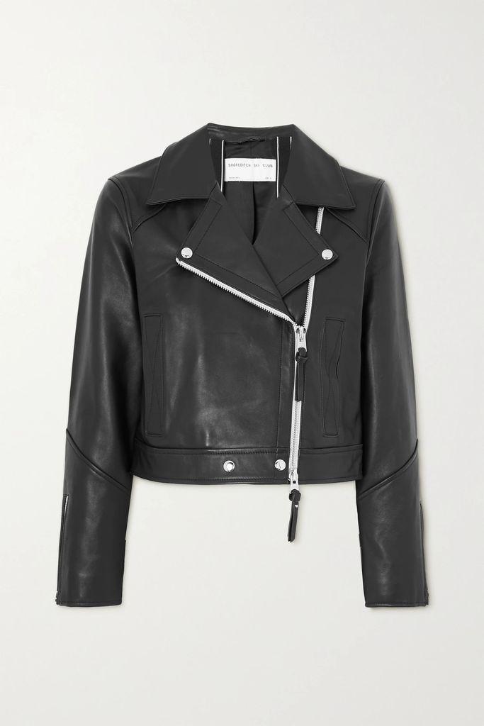 REDValentino - Stretch-gabardine Skirt - Black