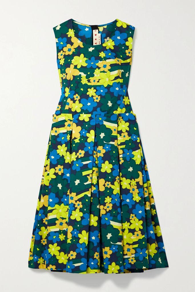 Altuzarra - Carol Floral-print Silk Crepe De Chine Skirt - Black