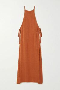 Zimmermann - Allia Lace-trimmed Embroidered Linen And Cotton-blend Mini Dress - Ivory