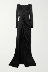 Loewe - Cutout Poplin-paneled Striped Cotton-blend Shirt - Beige