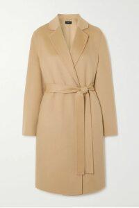 Saloni - Bella Tiered Printed Cotton-blend Seersucker Midi Dress - Pink