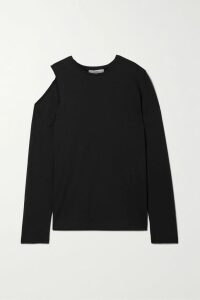 RIXO - Claire Pleated Leopard-print Cotton-blend Midi Skirt - Red