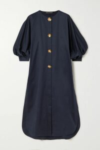 Chloé - Checked Wool-blend Blazer - Brown