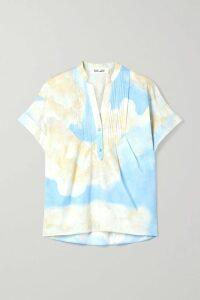 Dolce & Gabbana - Cropped Crystal-embellished Metallic Brocade Jacket - Pink