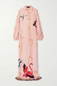 Loewe - Belted Wool And Cashmere-blend Coat - Orange