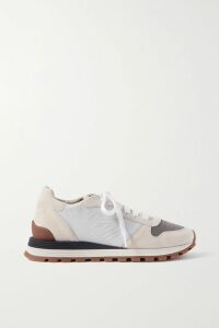 Isabel Marant Étoile - Faby Oversized Striped Felt Coat - Ecru