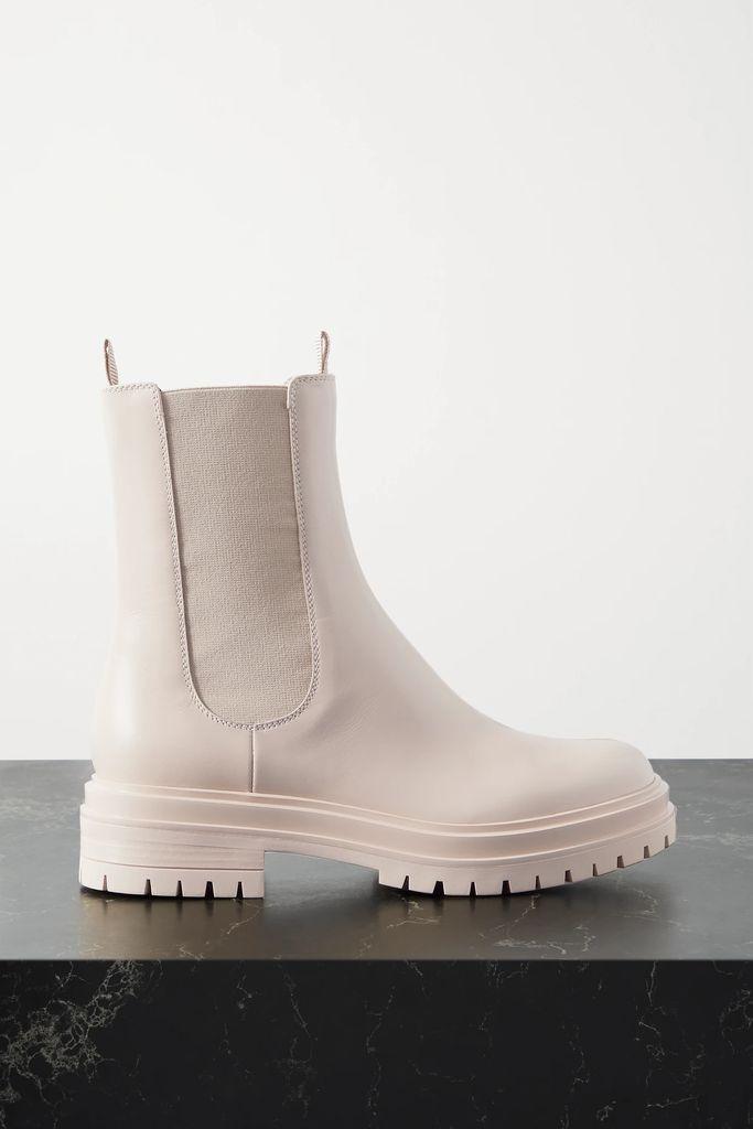 Loewe - Belted Leather Coat - Tan