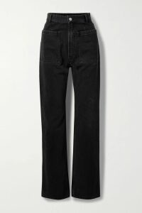 Balenciaga - Hourglass Checked Wool Blazer - Blue
