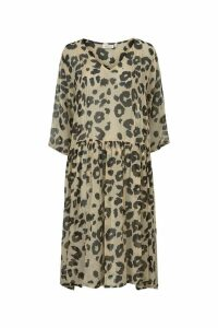 Womens Masai Camel Neoma Dress -  Brown