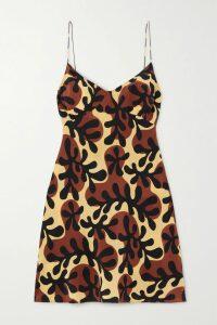 Marchesa Notte - Appliquéd Glittered Tulle Gown - Black