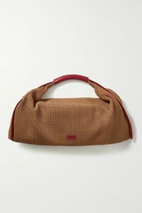 Maggie Marilyn - + Net Sustain Sweet Like Honey Knotted Cutout Ribbed Stretch Cotton-jersey Top - Ecru