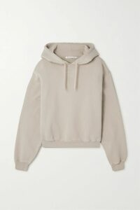 Michael Kors Collection - Ruffled Ruched Wrap-effect Jersey Midi Dress - Burgundy