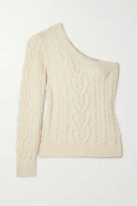 Michael Kors Collection - Asymmetric Wool-blend Midi Dress - Pink