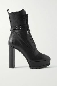 Balenciaga - Hourglass Checked Wool Blazer - Pink