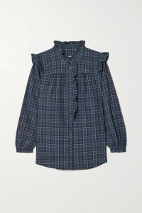 Stine Goya - Judy Tiered Floral-print Silk Crepe De Chine Maxi Dress - Yellow