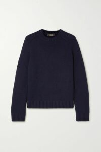 Tory Burch - Belted Embroidered Cotton Midi Dress - Black
