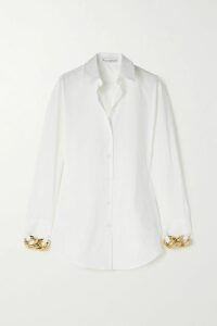 Zimmermann - Verity Lace-trimmed Floral-print Cotton And Silk-blend Chiffon Mini Dress - Sky blue