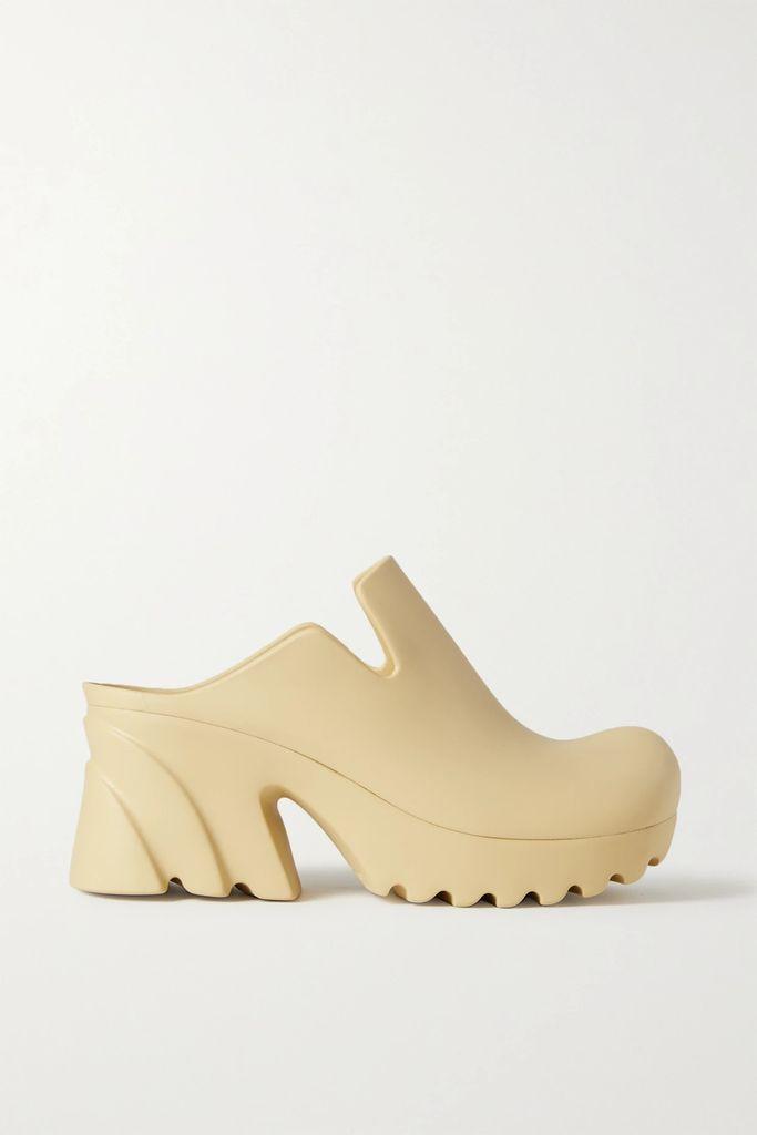 Art Dealer - Eva Belted Polka-dot Satin Midi Skirt - Black