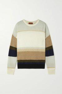 Tory Burch - Boho Crochet-trimmed Embroidered Swiss-dot Cotton Mini Dress - Navy