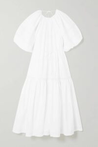 Burberry - Striped Merino Wool Skirt - Beige