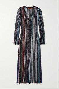 McQ Alexander McQueen - Patchwork Floral-print Crepe De Chine Midi Skirt - Black